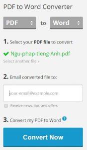 Chuyển đổi pdf