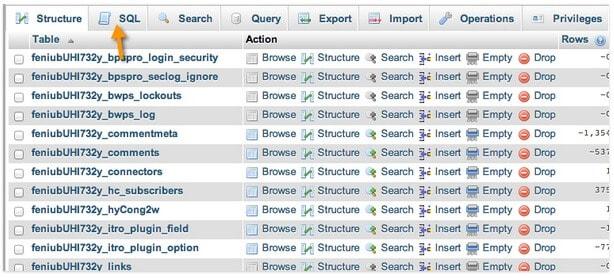 Làm sạch database trong WordPress
