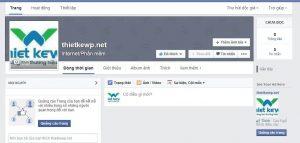 tạo fanpage facebook đơn giản