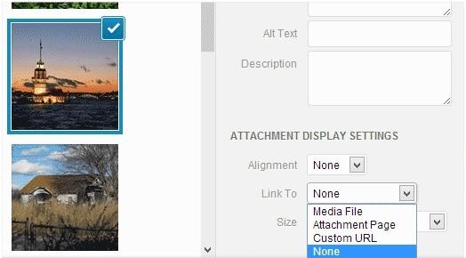 Thủ thuật tự động loại bỏ liên kết đến hình ảnh trong bài viết trong WordPress