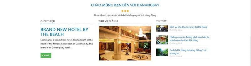 thiet ke website khach san