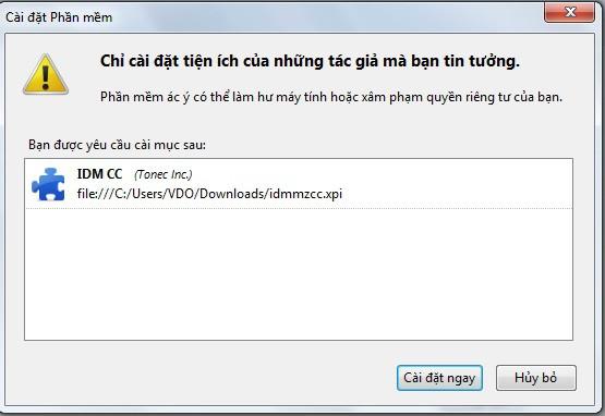 Lỗi IDM không bắt link Youtube 5