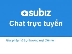 Cài đặt subiz chat trực tuyến trong WordPress