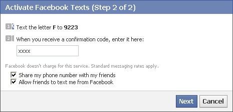 Không nhận được mã xác nhận Facebook