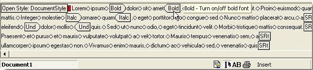 Cách dùng Reveal Formating Word 2010