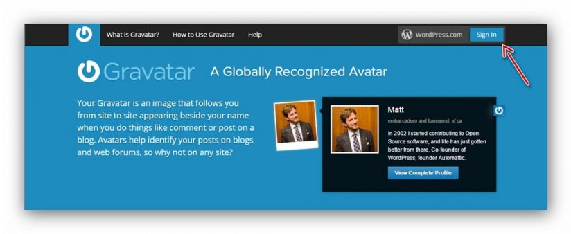 avatar trong wordpress