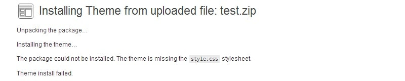 stylesheet-missing-wordpress
