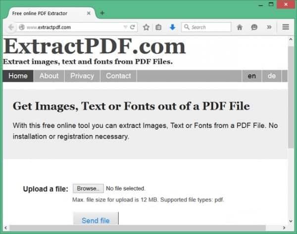 Cách trích xuất văn bản trực tiếp từ file PDF - ExtractPDF