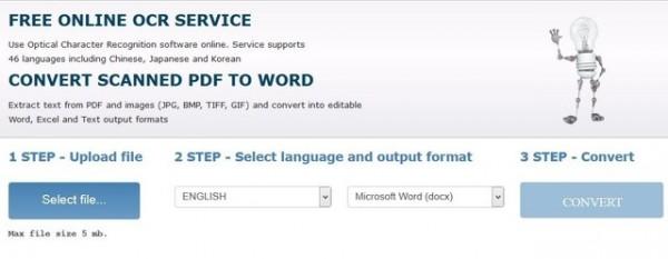 Cách trích xuất văn bản trực tiếp từ file PDF - Online OCR