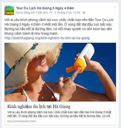 Facebook không hiển thị hình thu nhỏ khi chia sẻ, phải làm sao?