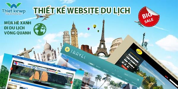 Thiết kế Website du lịch với những tính năng chuyên nghiệp