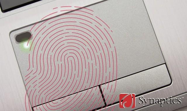 Công nghệ bảo mật vân tay sẽ được tích hợp vào touchpad