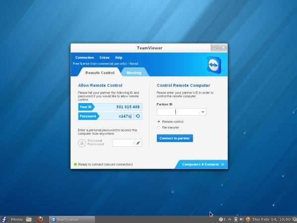 Hướng dẫn cài đặt Teamviewer 9 trên Linux