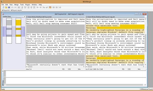 Hướng dẫn tìm và xóa tập tin trùng lắp trong ổ cứng - Winmerge