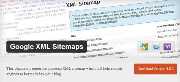 XML Sitemap tốt nhất cho WordPress - Google XML sitemaps