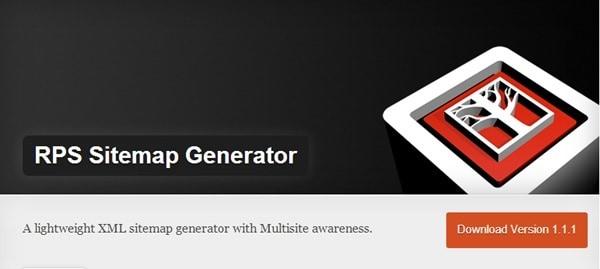 XML Sitemap tốt nhất cho WordPress - RPS Sitemap Generator