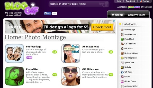 Những website tạo ảnh GIF miễn phí - BlogGIF