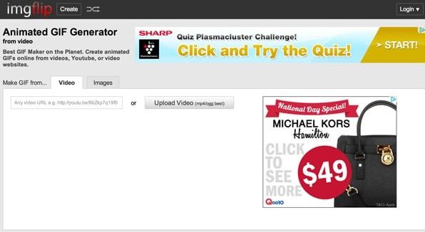Những website tạo ảnh GIF miễn phí - ImgFlip