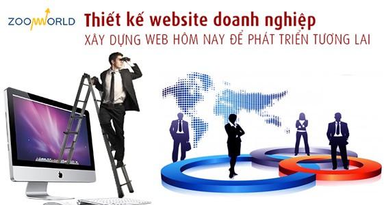 Thiết kế website doanh nghiệp nâng cao thương hiệu Việt