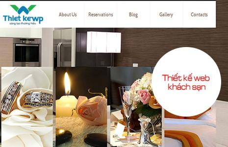Thiết kế website khách sạn với nhiều tính năng ưu việt và sáng tạo