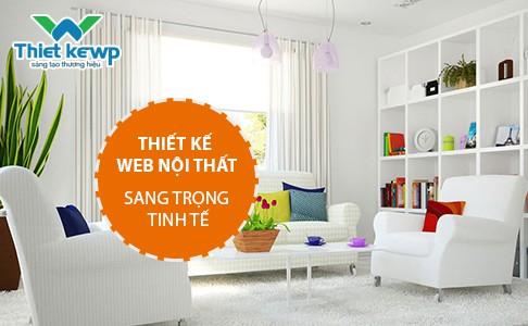 Thiết kế website nội thất sự kết hợp hài hòa và sáng tạo