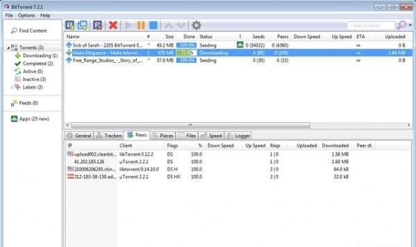 Những phần mềm tải Torrent tốt nhất hiện nay - Bittorrent