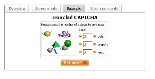 Ironclad CAPTCHA