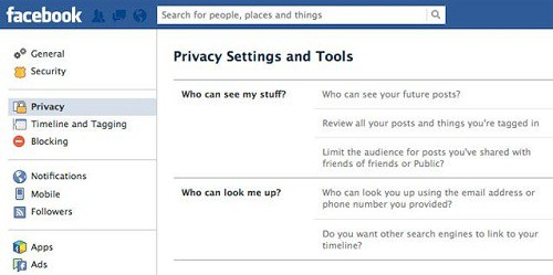 Bảo mật thông tin cá nhân trên các mạng xã hội