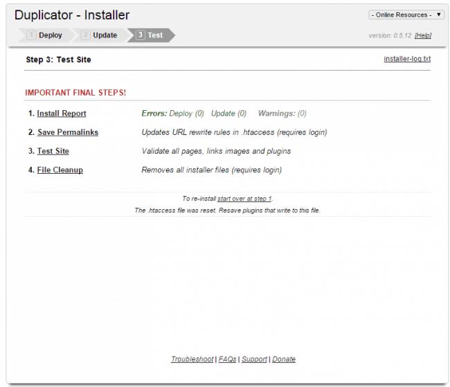 Chuyển đổi host hoặc domain trong WordPress với plugin Duplicator