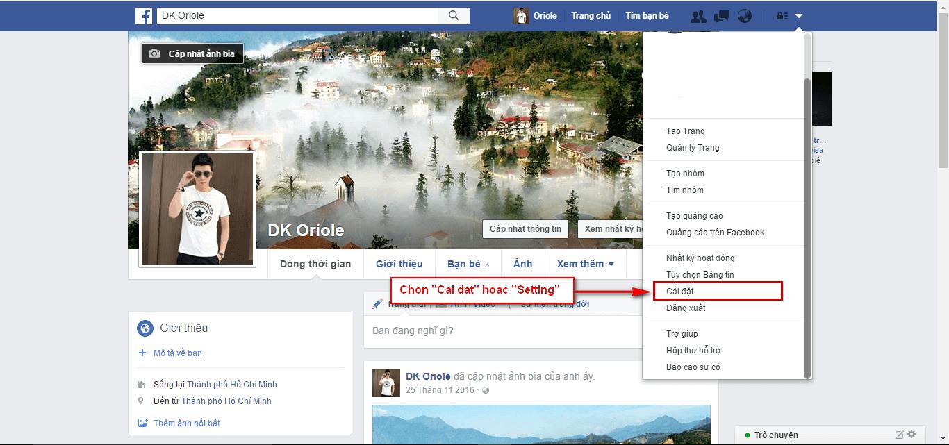 Hướng dẫn đổi tên facebook chưa đủ 60 ngày