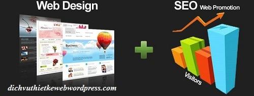 Kết hợp thiết kế Website và Seo