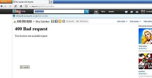10 thông báo thường gặp nhất khi truy cập vào một website - lỗi 400