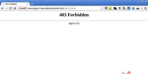 10 thông báo thường gặp nhất khi truy cập vào một website - lỗi 403