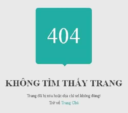 Cách khắc phục lỗi 404 cho bài viết