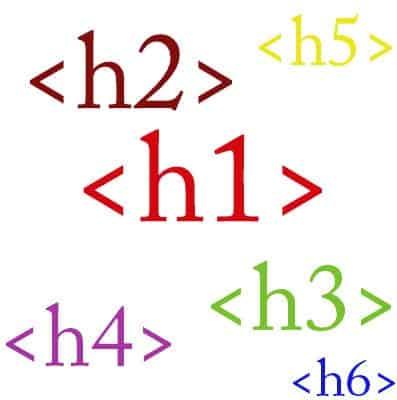 Tối ưu các thẻ H1, H2, H3...theo các từ khoá cần SEO cho website