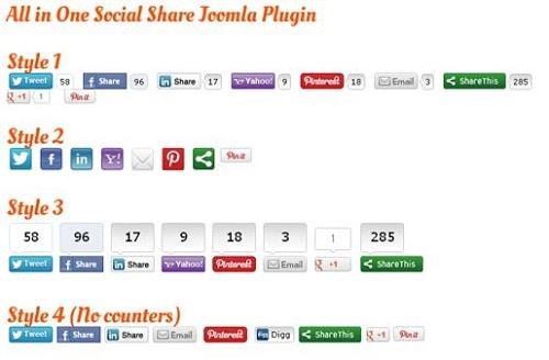 Plugin chia sẻ mạng xã hội - Share This