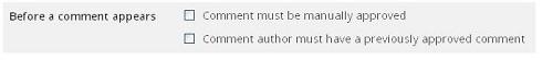 Cách hạn chế comment Spam trong Blog WordPress - Quản lý comment