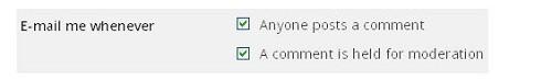 Cách hạn chế comment Spam trong Blog WordPress - Thông báo qua email