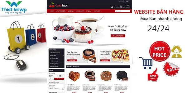 Thiết kế Website bán hàng online hỗ trợ Marketing hiệu quả