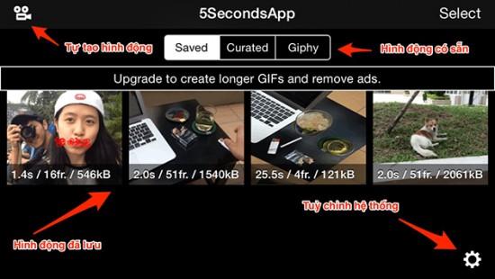 Cách tạo ảnh động bằng smartphone đăng lên Facebook