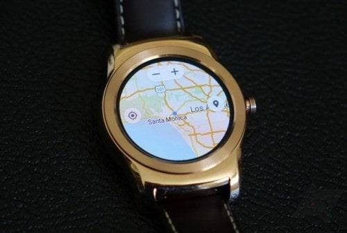 Google Maps chạy được trên Android Wear