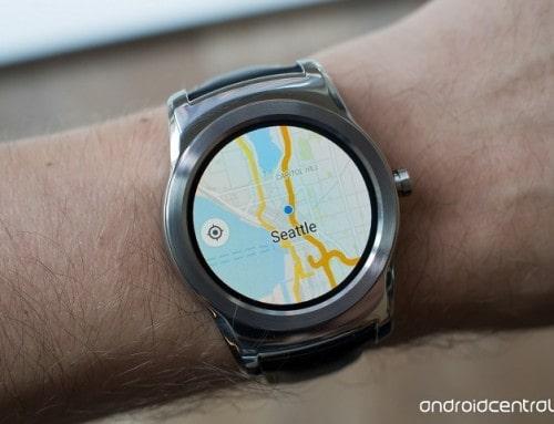 Ứng dụng Google Maps chạy được trên Android Wear