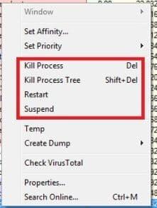 Process Explorer kiểm soát quá trình khởi động của Windows
