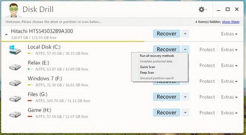 Miễn phí Khôi phục dữ liệu hiệu quả với Disk Drill-2