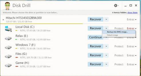 Miễn phí Khôi phục dữ liệu hiệu quả với Disk Drill