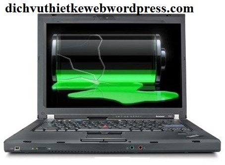 Cách sử dụng pin laptop để pin không bị chai