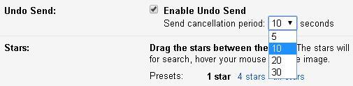 Gmail có thêm nút Undo Send, lấy lại email đã gửi