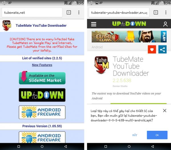 Hướng dẫn tải và lưu video YouTube trên điện thoại Android