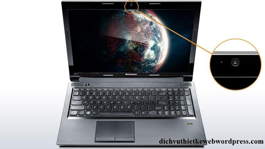 Webcam trong laptop