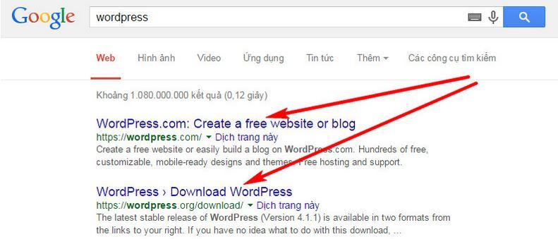 Sự khác biệt giữa WordPress.Org và WordPress.Com là gì?